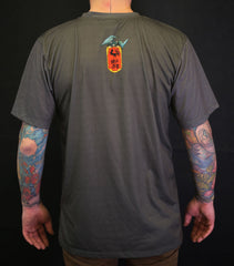 T-Shirt Hundred Demons - Gray - Slim fit