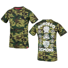 T-Shirt Hundred Demons Camouflage
