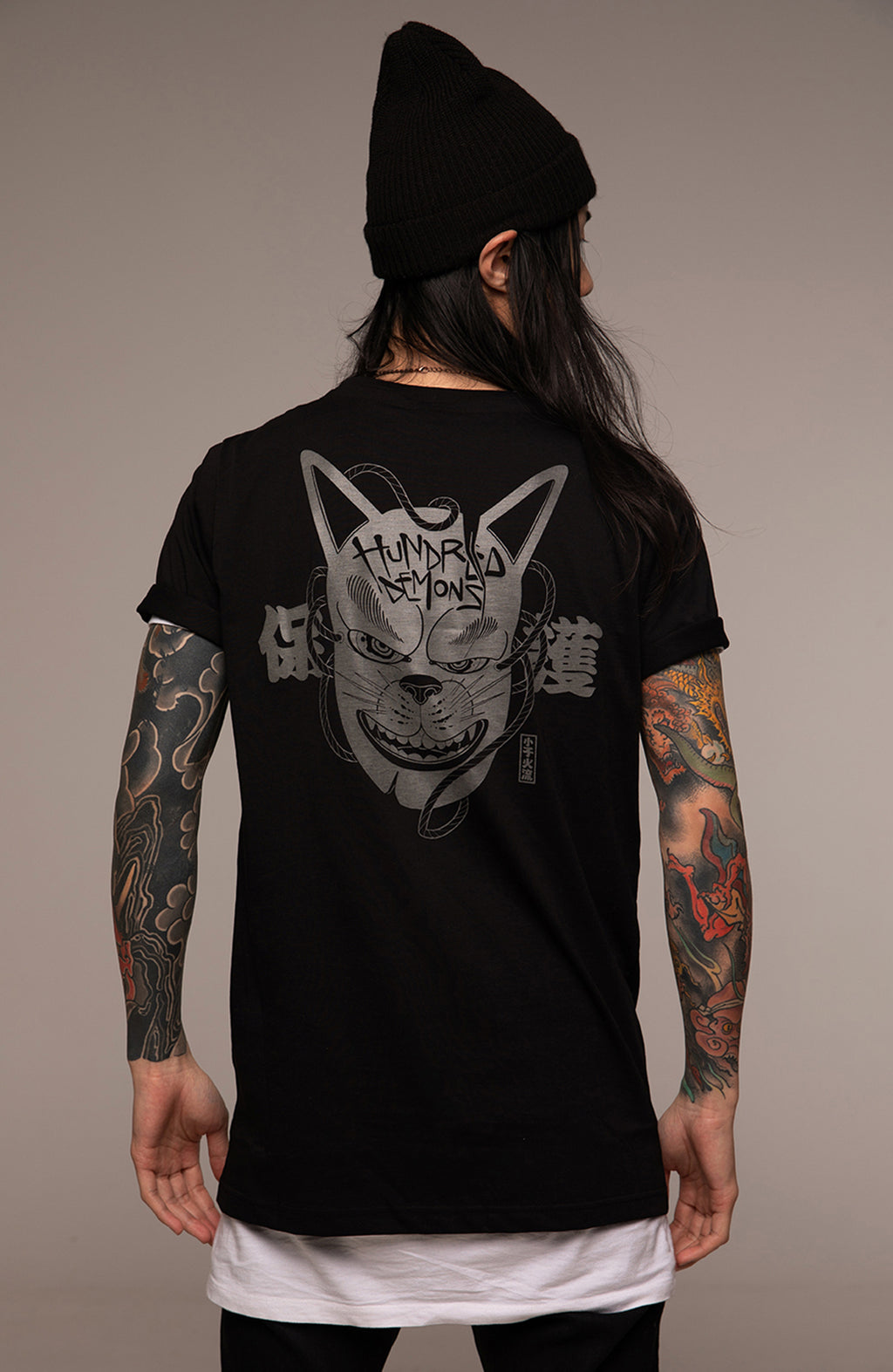 T-Shirt Kitsune Mask by Oscar Hove