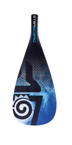 2019 STARBOARD SUP ENDURO 2.0 TIKI TECH BLUE M / ROUND HYBRID CARBON 2 PCS ADJUSTABLE