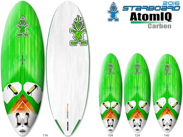 2016 STARBOARD ATOMIQ 140 CARBON ULTRACORE