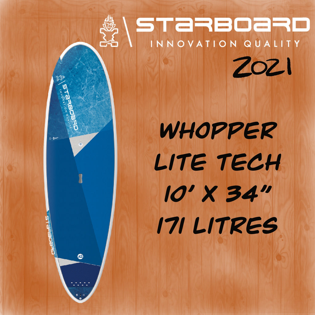 "2021 STARBOARD SUP 10 X 34"" WHOPPER LITE TECH"