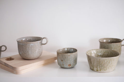 Hannah Lawrence ceramics at No.56, Penzance, Cornwall