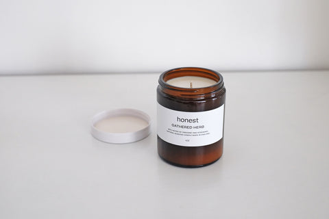 Gathered Herb candle by Honest : No.56, Penzance, Cornwall