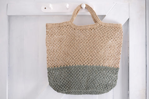 Jute bag : No.56, Penzance, Cornwall