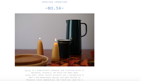 No56 on Falcon Enamelware