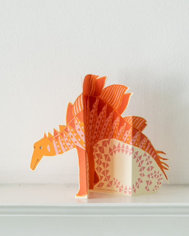 cambridge imprint stegasaurus card