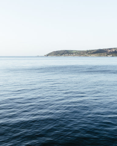 calm September sea Penzance