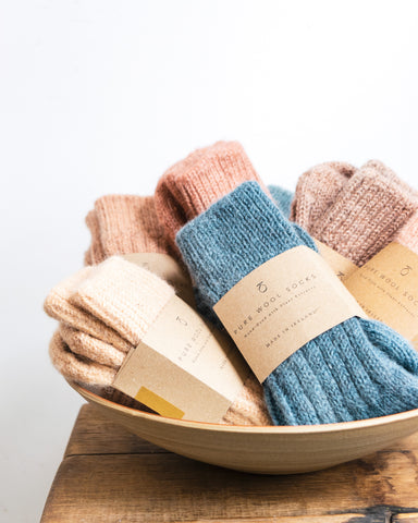 Kathryn Davey wool socks