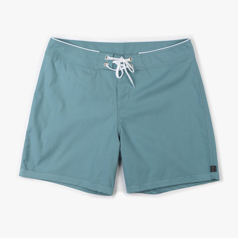 Modern Standard board shorts in Stone Blue