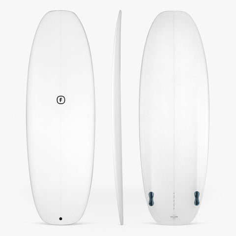 Piccolo twin fin