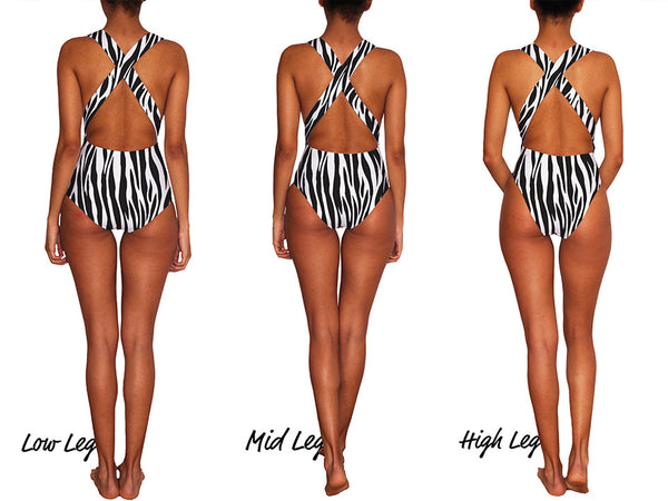 Zebra La Parisienne Swimsuit