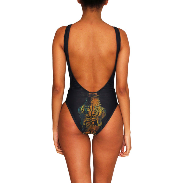 Thirsty Tiger One Piece Swimsuit