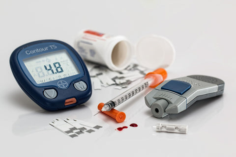 Diabetes blood lipid analyser