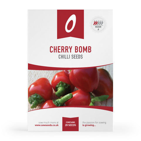Cherry Bomb Chilli Seeds