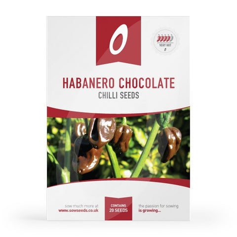 Habanero Chocolate Chilli Seeds