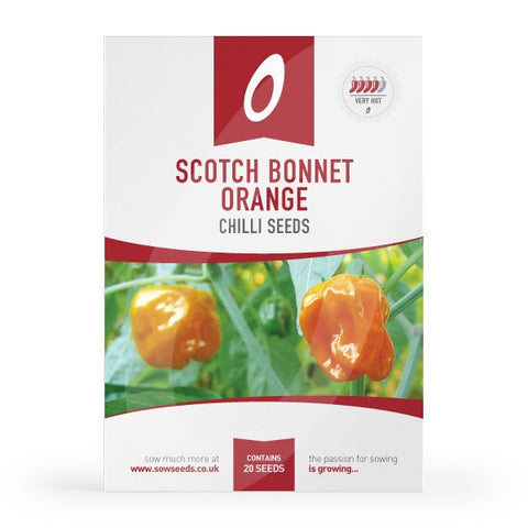 Scotch Bonnet Orange Chilli Seeds