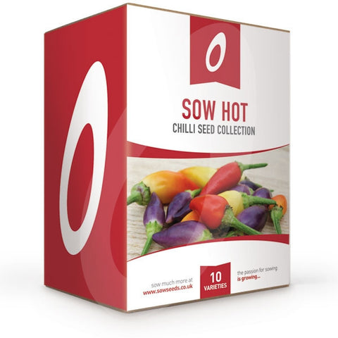Sow Hot Chilli Seed Collection Box
