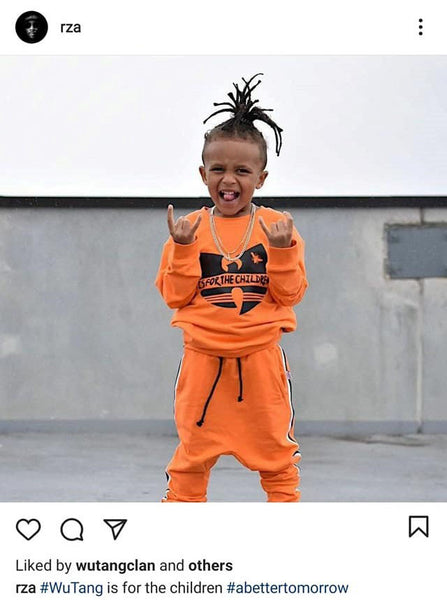 rza reposts little villains wu-tang tracksuit in orange
