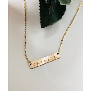 Passion Bar Necklace - Deluxur Jewellery