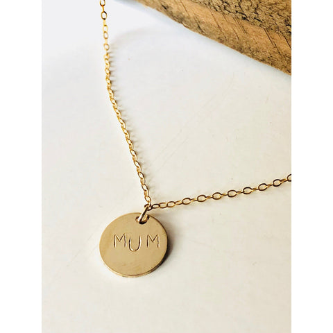 Mum Necklace - Deluxur Jewelry