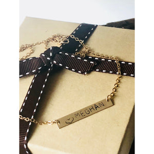 Meghan Name Necklace - Deluxur Jewellery