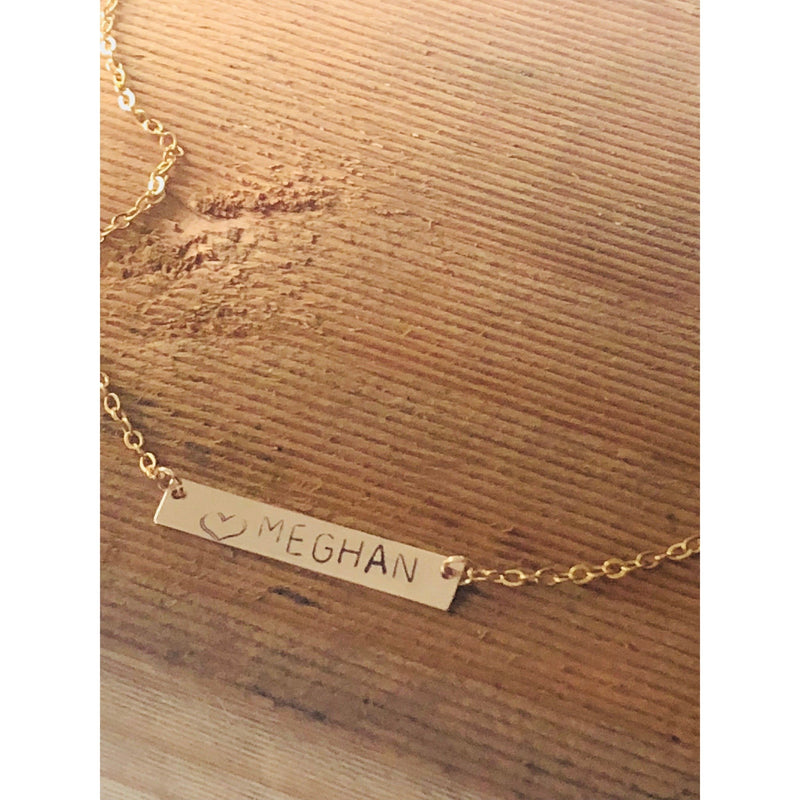 Meghan Name Necklace