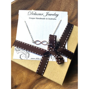 Infinity Necklace - Deluxur Jewellery