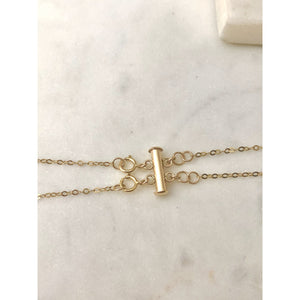 Layered Necklace Spacer Clasp