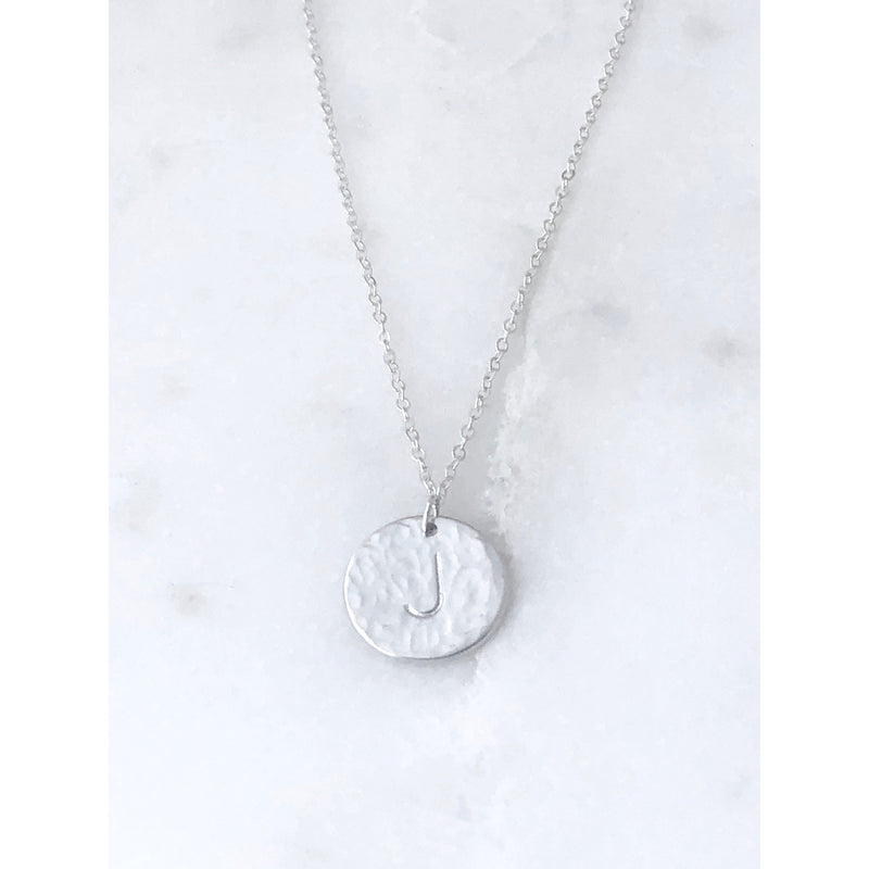 Roxie Initial Necklace - Deluxur Jewellery