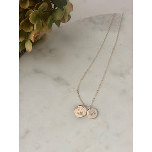 Mama And Baby Bear Necklace - Deluxur Jewellery