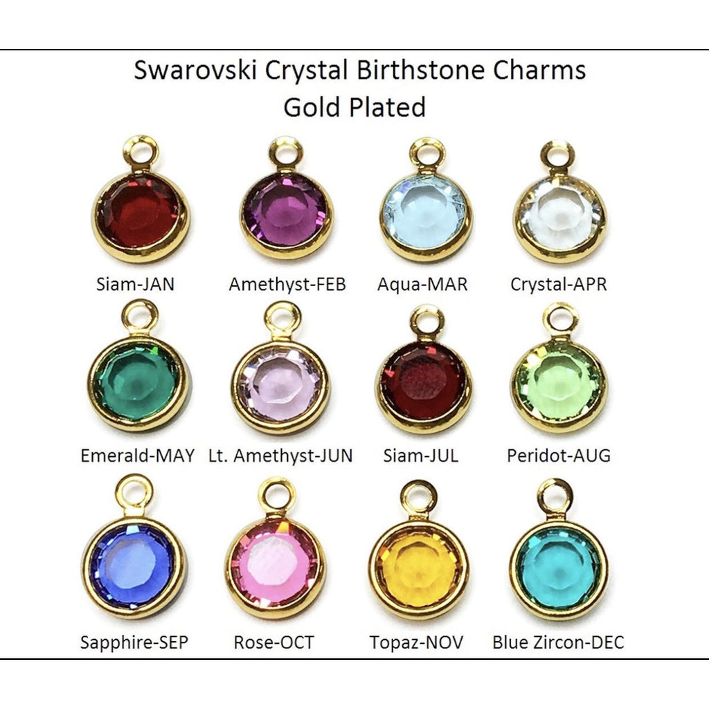 Birth Stone Charms