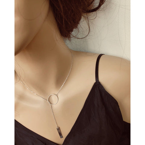 (Wholesale) Lariat Long Necklace - Deluxur Jewellery