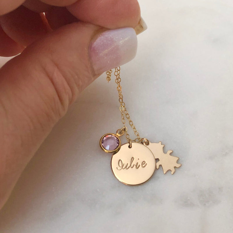 Personalised Family Necklace-Deluxur