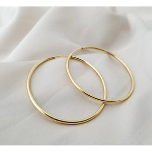 Personalised Birthstone Hoops Earrings-Deluxur