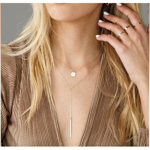 Lariat Long Necklace