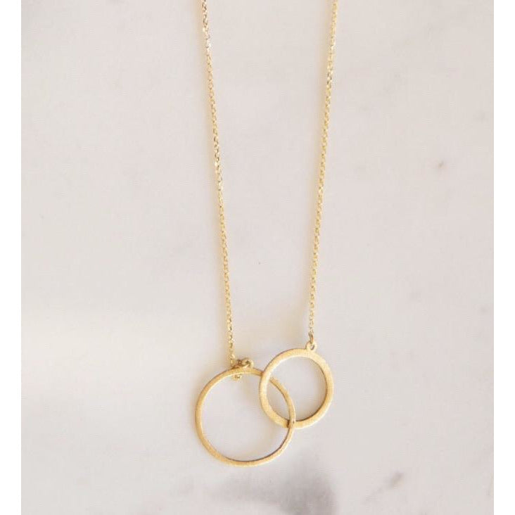 Linked Circles Necklace