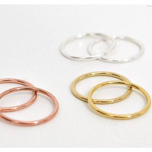 Round Stacking Rings