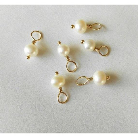 Fresh Water Pearl Charm - Deluxur Jewellery