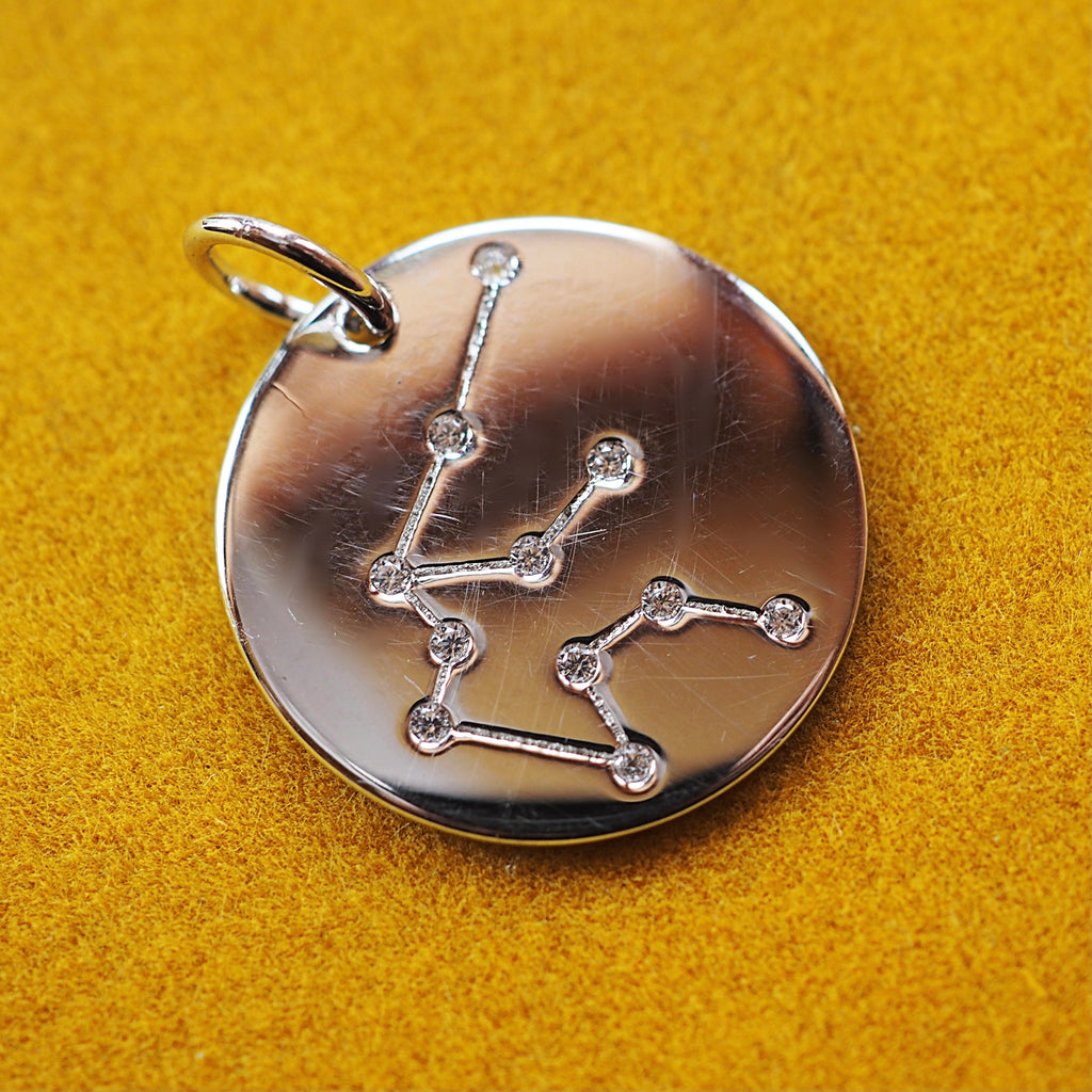 Aquarius Constellation Charm
