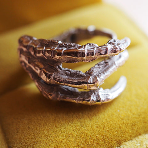 Crow Claw ring