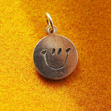 Smiley Disc Charm