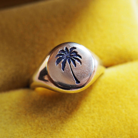Palm Tree Signet