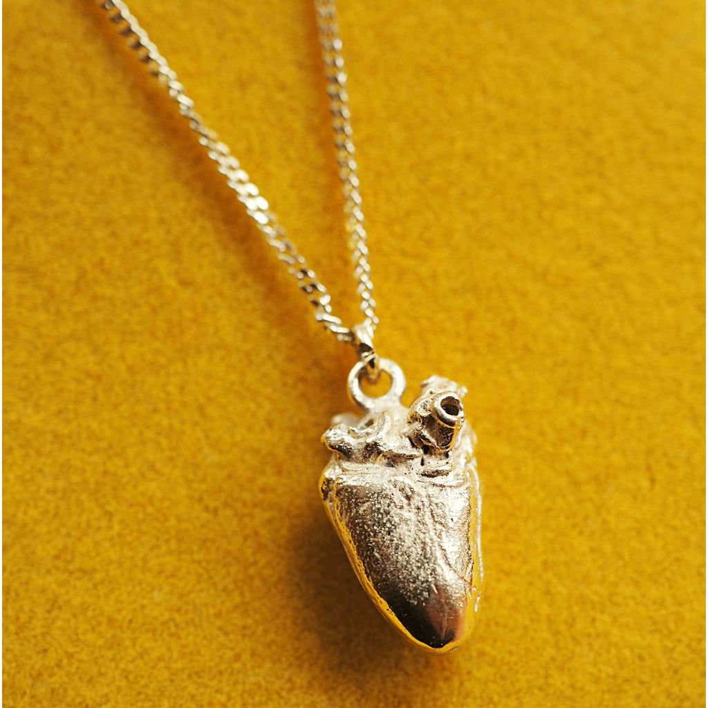 Dove Heart Necklace