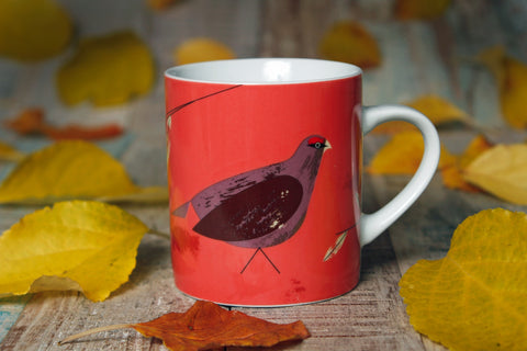 Game Birdy Mug Grouse