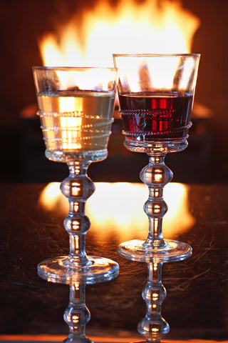 Set Of Four Rialto Red Wine Glasses