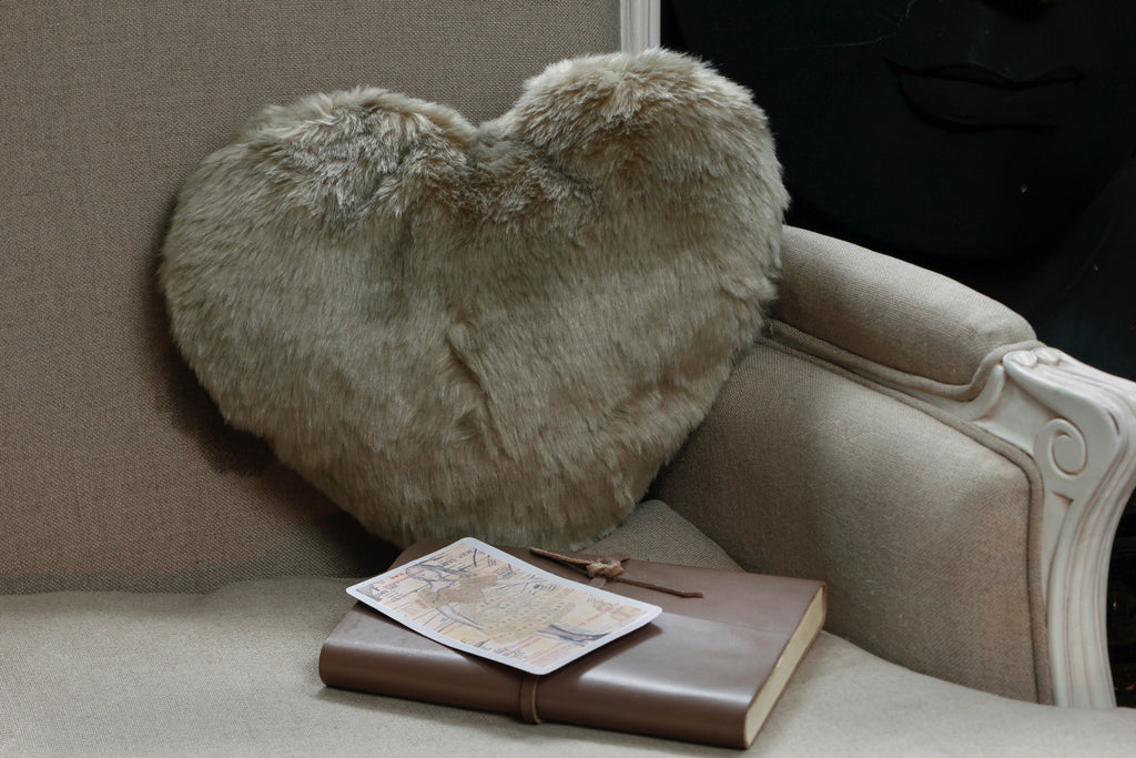 Long Hair Furry Cushion
