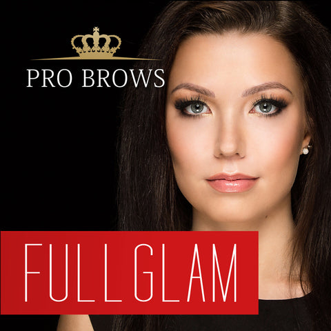 FullGlam Brow Design course in Tallinn 08.07.2016