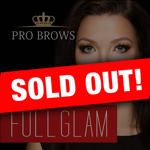 FullGlam Brow Design course in Tallinn 22.04.2016