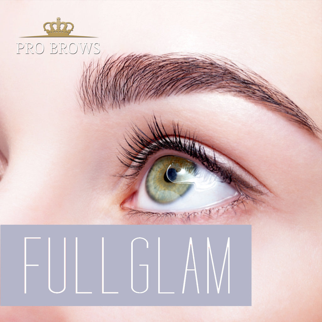FullGlam Brow Extensions course in Tallinn 01.04.2016